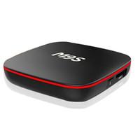 m9s android box al por mayor-Venta de fábrica M9S X10 Nuevo MXQ Pro 4K Smart Android 7.1 TV Box Rockchip RK3229 Quad Core Google Set Top Box Media Player