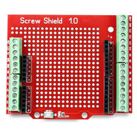Wholesale ports terminals resale online - Proto Screw Shield Assembled Prototype Terminal Expansion Board for Arduino provides terminal for Arduino IO convenient port connection