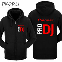 Wholesale dj wearing - Pkorli Pioneer Pro DJ Sweatshirt Club Wear Cdj Nexus Audio Ddj Hoodie Men Women Casual Fleece Mens Hoodies Hip Hop Hoody