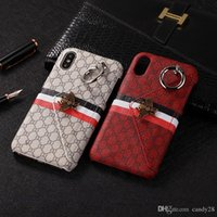 Wholesale for IPhone X luxury case Fashion Luxury Popular Mobile Phone Shell Metal Bee Wallet Back Cover Case for IPhone plus plus
