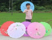 güneş şemsiyeleri düğün toptan satış-Düğün Şemsiye ipek Şemsiye Güneş Şemsiyesi Gelin Aksesuarları El-boyalı düğün ipek Şemsiye Çin el sanatları
