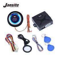 stop lock venda por atacado-Jansite Botão de Botão de Parada do Motor de Alarme de Carro Botão de Parada de RFID Interruptor de Ignição Keyless Sistema de Entrada Sistema Anti-roubo de Arranque
