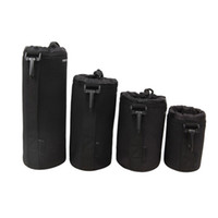 Wholesale soft camera pouches - Universal Neoprene Waterproof Soft Video Camera Lens Protective Pouch Bag Case