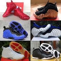 Wholesale Genuine Cultured Pearls - Sale Air Basketball Shoes Sneakers Men's Blue Man One Pro Sports Shoes Pearl Penny Hardaway Shoes Size:7-13