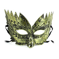 Wholesale Ghost Painting - Handsome painted Prom Mask Hip hop Dance Mask Hand painted Plastic Ghost Step Adjustable Straps Halloween A4