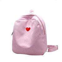 irmã macia venda por atacado-Harajuku mini bolsa de ombro macio irmã bolsa de lona do ensino médio feminino estudante japonês pequena mochila z797