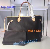 Wholesale Top Selling Women Handbags - Top Famous designer Cowhide orange quality Hot Sell NEVER FULL women handbag bag Shoulder Bags lady Totes handbags bags #40156 #40157 M40995