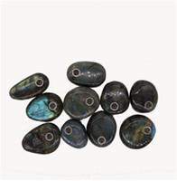 Wholesale Black Feng Shui - wholesale 1PC free shipping!(40-60 mm) 100% natural quartz crystal smoking pipe labradorite wands reiki healing gifts reiki healing