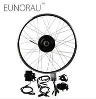 elektro-fahrrad-kit kostenlos großhandel-Freies Verschiffen 36V 500 Watt 8fun Bafang 8FANG elektrische bike vorderradnabe rad motor kit Elektrische fahrrad Conversion Kit