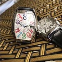 hora loca ver al por mayor-2019 Fashion Lady CRAZY HOURS 8880 Dial negro Automático de acero inoxidable para mujer Relojes para mujeres Relojes