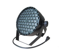 dimmer par light al por mayor-54 RGBW Led Par Light DMX Luces de escenario Lave atenuación luces de efecto de iluminación estroboscópica para Disco DJ Party AC110-220V