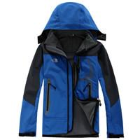 chandails polaires chauds achat en gros de-CHAUD la nouvelle automne et hiver polaire nord veste veste soft shell vestes pour les hommes face nord vêtements de sport en plein air livraison gratuite