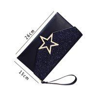 сумка-конверт с обложкой конверта оптовых-2018 Women Shoulder Messenger Bags Fashion Paillette Party Envelope Bag Solid Clutch Handbag Casual Hasp Cross Body Phone Purse