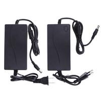 4a адаптер питания оптовых-Адаптер 4a 60 Вт переменного тока в постоянный 15 В 4A Блок питания Универсальное зарядное устройство Адаптер постоянного тока 15 В 5,5 * 2,5 мм США ЕС Plug Plug For LCD