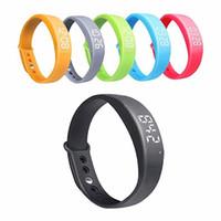 relógio w5 venda por atacado-Calorias espertas do contador das etapas do podómetro W5 do relógio de pulso que seguem o bracelete dos esportes