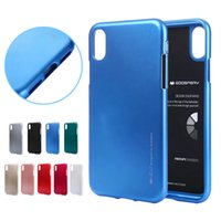 Wholesale case note mercury online – custom MERCURY GOOSPERY TPU Shell Phone Cover Case for iPhone X XS MAX XR For Samsung Note S9 plus Huawei P20 Sony LG Moto E5 plus play RetailBox