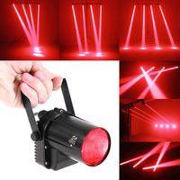 dj стоит оптовых-5W Красный светодиодный прожектор Ball DJ Bar Вращающийся световой индикатор Pinspot с подставкой и регулируемым углом LEG_91O