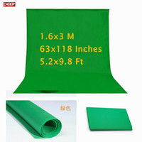 Wholesale Green Muslin Backdrop - Photo Photography studio Green Screen Chroma key Non Woven Background Backdrop for Studio Photo lighting fotografia Muslin shoot