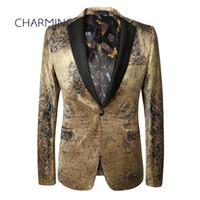Wholesale Mens Tuxedo 54 Costume - Fine mens suits Suitable for fashion high-end custom men's suit design gentleman costume suitable for singers, dancers, clothing, suit jacke