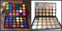 48 lidschatten großhandel-IMAGIC Lidschatten 48 Farben Gepresste Lidschatten Matte Shimmer Palette Glitter Lidschatten-Palette kostenloser Versand