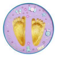 bebek tenekeleri toptan satış-Yenilik El Ayak Inkpad Bebek Handprint Ayakizi Çamur Kil Toksik Olmayan Künye Kiti Ebeveyn-Çocuk Bebek Keepsakes Teneke 12 stilleri C4798
