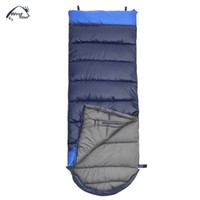 Wholesale goose down sleeping bag 15 for sale - Group buy Update edition WIND TOUR Adult Outdoor Hand Unbound Thickening Envelope Style Sleeping Bag