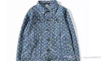 Wholesale jaqueta jeans masculina - MA1 Denim Jacket Men With Hole Fashion Streetwear Jaqueta Jeans Masculina Mens Jackets And Coats Oversize Kanye West Jackets