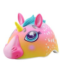 Wholesale roller skating for sale - Group buy Raskullz Children Bicycle Cycling Helmet Skate Cartoon Unicorn Shark Roller Skating Security Protect old Head Circumference CM Safe