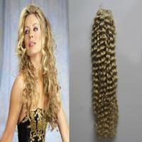 saç örgüsü demetleri satın alma toptan satış-Brezilyalı saç örgü demetleri İnsan Saç Uzantıları Kinky Kıvırcık 613 Bleach Sarışın 3 Veya 4 Parça kalın At Satın Alabilirsiniz
