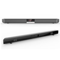 inşa edilmiş hoparlörler toptan satış-SR100 Güçlü Bluetooth TV SoundBar 40 W Kablosuz Ince Stereo Hoparlör ev sineması sistemi için dahili Subwoofer surround ses sistemi