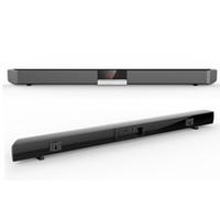 drahtloses heimkinosystem großhandel-SR100 Leistungsstarker Bluetooth TV SoundBar 40W Wireless Slim Stereo Lautsprecher eingebauter Subwoofer für Heimkino-System Surround-Sound-System