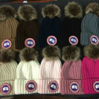 Wholesale Bobble Man - Winter Hat for Women Men Pompom Cap pom pom Beanie womens mens Warm Knitted Fur beanies Boy Girl Bobble hats ladies Adult caps wholesale