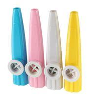 kazoo en plastique achat en gros de-Kazoo en plastique classique pour le cadeau d'enfants d'amoureux d'instrument de musique