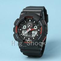 часы брендинг оптовых-бренд Мужские спортивные цифровые наручные часы, Спорт reloj hombre армия военный хронограф часы шок сопротивляться relogio masculino случайные часы