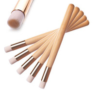 Wholesale makeup tools accessories resale online - Blackhead Nose Cleaning Brush Wooden Washing Makeup Beauty Brushes Skin Care Tools Cleaning Accessories Nasal Shadow Flat Top Brush
