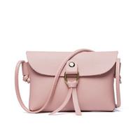 Wholesale cross sling purse resale online - Phone Purse Crossbody Bags For Women Mini Leather Flap Sling Bag Fashion Small Cross Body Purse Handbag