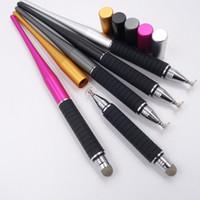 satılık ipad tabletleri toptan satış-Sıcak satış Evrensel 2 1 Kapasitif Kalem Dokunmatik Ekran Çizim Stylus Kalemler için iPhone için iPhone iPad Tablet PC için