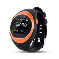 reloj gps de calidad al por mayor-SOS Android Smart Watch envejecido y niños miran buena calidad GPS Position OEM y ODM Service