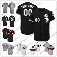 Wholesale Womens Army Shorts - Custom Chicago Baseball Jerseys Mens Womens Youth Kids Gray Road White Black Pullover Personalized Stitched Any Your Own Name Number S,4XL