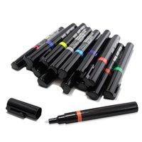 ingrosso diy uv-Nail art design 3d fai da te nail art penna disegno strumento di disegno disegno per gel UV manicure 3d fai da te gel UV penne polacche