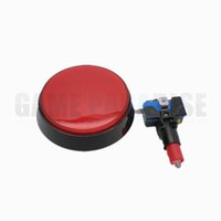 Wholesale arcade game push buttons online - Arcade game parts accessories mm illuminated push button with microswitch led five colors available