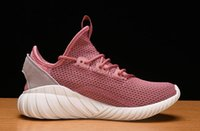 Wholesale tubular cut - Free Shipping 2018 Newest Outdoor Sports Designer Shoes Tubular Doom Sock PK for Men Women Running Shoes Sneakers With Box