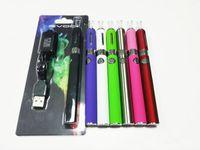 Wholesale ego mt3 starter - EVOD MT3 Blister Kit EGO Starter Kits Evod 510 Thread Battery E Cigarettes 650mAh Electronic Cigarettes Vape Pen MT3 Atomizer Clearomizer