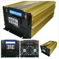 Wholesale solar waving - 6000W Peak 3000W Pure Sine Wave Inverter for Off Grid Solar System DC 12V to AC 220V