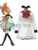 rin kagamine cosplay costume venda por atacado-Vocaloid Kagamine Rin Halloween Traje Cosplay