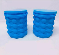 Wholesale game saves online - Silicone Ice bucket The Revolutionary Space Saving Blue Ice Cube Maker Travel Soccer Game Outdoor Ice Block Kitchen Tools Buckets