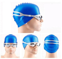 Wholesale plastic swimming pools - Swimming Goggles Anti-Fog UV Protection Men Women Eyewear Adult Coated Lens Swimming Glasses Professional Pool Eyewear DDA127