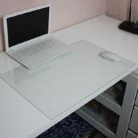 teclado macbook à prova d'água venda por atacado-600x400mm Transparente Desk Mouse Pad Waterproof Anti-Slip Gaming Laptop Keyboard Mice Mat para Macbook