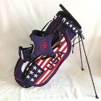 ingrosso usa flag nylon-Borsa da golf in nylon leggera con bandiera USA Borsa da golf in nylon con borsa da golf di buona qualità
