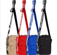 bolsa de pecho pequeño mensajero para hombres al por mayor-Sup 44th Pack Chest Pack sup Unisex Fanny Pack Bolso de cintura de moda Hombres Canvas Bolso de la correa de Hip-Hop Hombres Messenger Bags 18ss Bolso pequeño